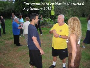 Entrenamiento Navia Asturias 2015